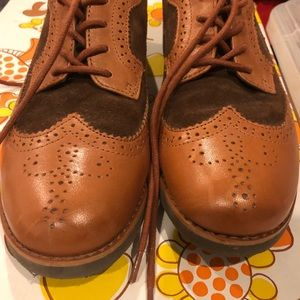 Ralph Lauren Fall wing tip shoes